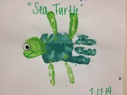 handprint sea turtle kids handprint u0026 footprint crafts