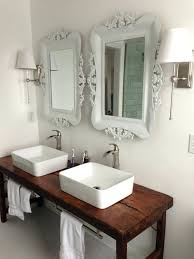 Bathroom Vanity With Farmhouse Sink Farmhouse Vessel Sink Vanity Vanity Collections