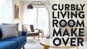 Livingroom Makeover Curbly Living Room Makeover Clean Modern And Functional Youtube