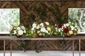 compass floral wedding centerpiece sizes variations