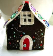 buy felt gingerbread house try handmade gallery free handmade