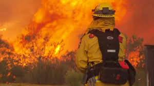 Wildfire Shot Drink by Flames Engulf California Wine Country Cnn Video