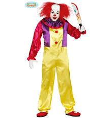 clown jumpsuit horror clown jumpsuit gu 84317 84752 las fiestas