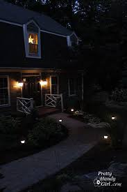 Installing Low Voltage Landscape Lighting How To Install Low Voltage Landscape Lights Pretty Handy