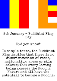 Flag Color Meanings 8th January In Dalit History U2013 Buddhist Flag Day Dr B R
