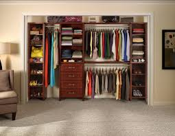 Pretty Home Decor Decorating Pretty Wood Lowes Closet Systems With Triple Hanger