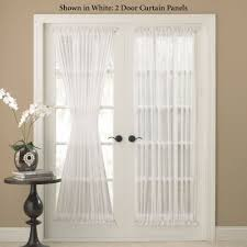 front door window treatments decorating french door panels curtains window treatments french