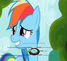 Mlp Rainbow Dash Meme - rainbow dash asks you do you think we could become more than just