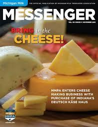 michigan milk messenger november 2016 by michigan milk producers