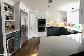 black bottom and white top kitchen cabinets blue and white two toned kitchen cabinets tucker