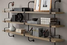 wrought iron bathroom shelf