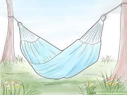 3 ways to make a hammock wikihow