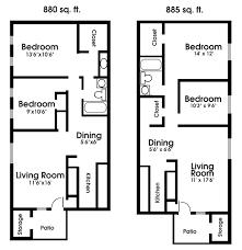Two Bedroom Cabin Floor Plans Download 2 Bedroom Apartments Plans Buybrinkhomes Com