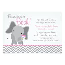 baby shower bring book instead of card baby shower bring a book card woodland zazzle
