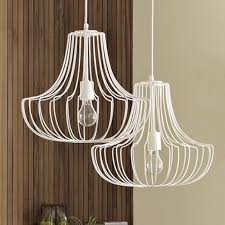 Wire Pendant Light Small Wire Pendant White West Elm