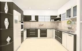 modular kitchen u shaped design home design ideas