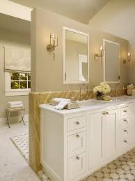 Neutral Colored Bathrooms - revere pewter coordinating colors bathroom transitional with khaki