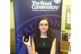 medal gold hair products young digby singer earns gold medal from royal conservatory