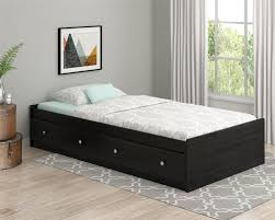 belmont black kitchen island ameriwood furniture essential home belmont twin mates bed black oak