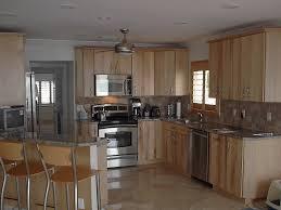 1970 u0027s refinished cupboards in kitchen kitchen cabinets birch