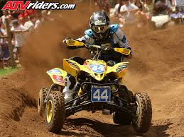 atv motocross suzuki u0027s chad wienen dominates first moto at loretta lynn ranch