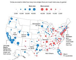 Louisiana Tech Map by The 22 Maps That Define America Single Men
