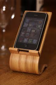 gift idea for him smartphone desk stand by terryswoodwowrking