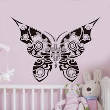 elegant butterfly decorations promotion shop for promotional tribal animal wall stickers princess bedroom wall decorative elegant butterflies hollow out vinyl removable decals