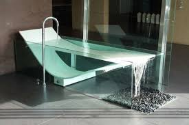 modern glass bathtub contemporary bathroom furniture design luxury