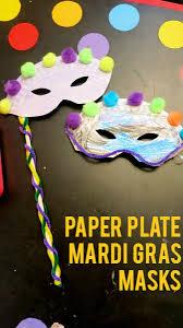 mardi gras paper paper plate mardi gras masks png