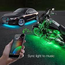 Colored Interior Car Lights 8x24