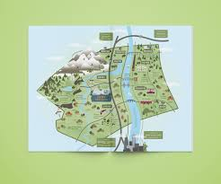 Boston County Map by Suny New Paltz Ulster County Map U2014 Cinder Design Co