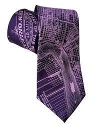 New Orlean Map by New Orleans Map Necktie By Cyberoptix