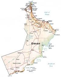 map of oman map of oman by phonebook of oman com