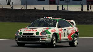 toyota rally car toyota celica gt four rally car st205 u002795 gran turismo 6