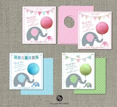 printed baby shower party favors for eos lip balm thank you