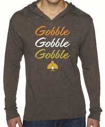 thanksgiving gobble unisex thanksgiving gobble turkey tri blend hoody sorock shop
