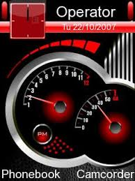 theme clock black clock theme for nokia e63 free