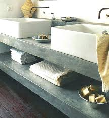 countertop bathroom sink units concrete countertops bathroom vanity concrete bathroom vanity cement