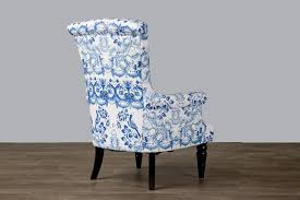 Blue And White Accent Chair Alluring Blue And White Accent Chair With Wholesale Interiors