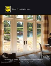 Pella Patio Door Pella 4 Panel Sliding Patio Doors Sliding Doors Ideas