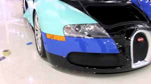 tiffany blue mustang bugatti veyron satin tiffany blue wrapped by dbx in custom color