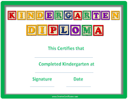 preschool graduation certificate sle graduation certificate preschool copy kindergarten graduation