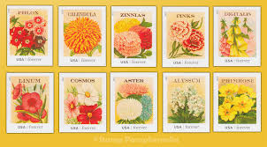 seed packets vintage seed packets 2013 us postage sts