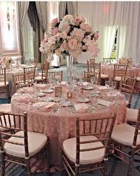 beautiful pink and gold wedding pink and white raised floral