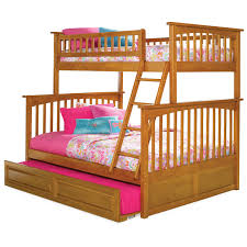 Bunk Bed With Trundle Atlantic Furniture Columbia Bunk Bed Hayneedle