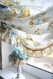 Buy Shabby Chic Decor by Buy Curtains With Blue English Roses Shabby Chic Style Blue