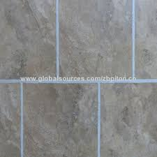 china texture vinyl click flooring tile in size 12 x 24 on
