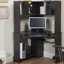 Black Corner Computer Desk With Hutch by Furniture Amazing Design Of Small Corner Desk With Hutch