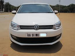 volkswagen car white my german dream white vw polo 1 6l highline team bhp